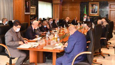 Photo of Mining: Cross-sectoral coordination meeting on Gara Djebilet and phosphate