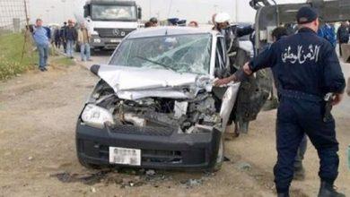 Photo of المديرية العامة للأمن الوطني: وفاة 11 شخصا وإصابة 307 آخرين خلال أسبوع