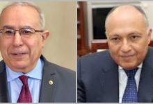Photo of لعمامرة يبحث مع نظيره المصري مستجدات الأوضاع في المنطقة والأزمة الليبية