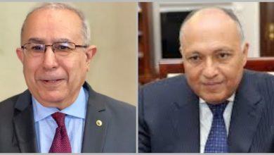 Photo of Lamamra évoque avec son homologue égyptien la situation dans la région et la crise en Libye
