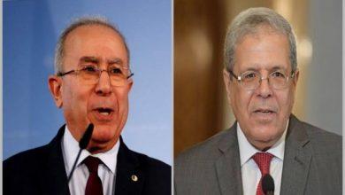 Photo of Lamamra s'entretient avec son homologue tunisien des mécanismes de consolidation de la stabilité