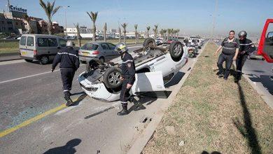 Photo of حوادث مرور: وفاة 8 اشخاص وإصابة 173 آخرين خلال ال24 ساعة الأخيرة