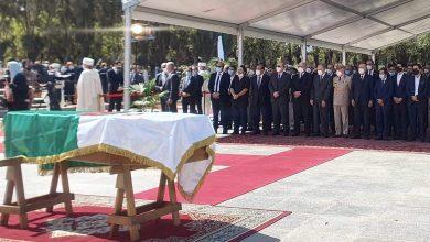 Photo of Body of former President of the Republic, Abdelaziz Bouteflika, buried in Al-Alia Cemetery