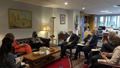 Photo of لعمامرة يتباحث في نيويورك مع وكيلة وزارة الخارجية الأمريكية للشؤون السياسية