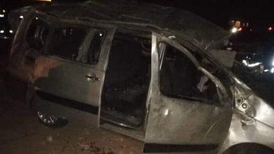Photo of الجلفة: هلاك ثلاثة أشخاص وإصابة 12 آخرين بجروح في حادث مرور