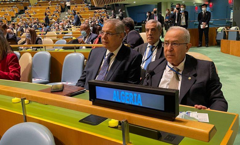 Photo of الأمم المتحدة: لعمامرة يواصل نشاطاته المكثفة بنيويورك بعقد سلسلة من اللقاءات الثنائية