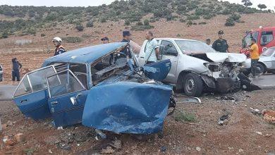 Photo of حوادث المرور: وفاة شخصين وإصابة 108 آخرين نهاية الاسبوع