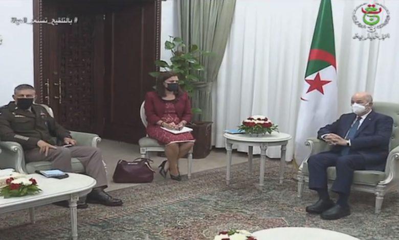 Photo of رئيس الجمهورية يستقبل قائد القيادة العسكرية الأمريكية في إفريقيا
