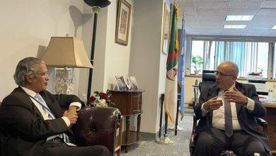 Photo of Lamamra s'entretient à New York avec son homologue sahraoui