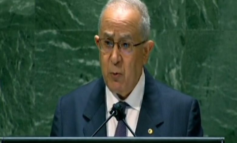 Photo of الجزائر تؤكد من على منبر الأمم المتحدة على حق الشعب الصحراوي في تقرير المصير
