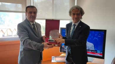Photo of المدير العام للتلفزيون الجزائري يستقبل المنسق العام للوكالة التركية للتعاون و التنسيق