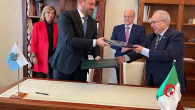 Photo of توقيع مذكرة تفاهم بين الجزائر وسان مارينو