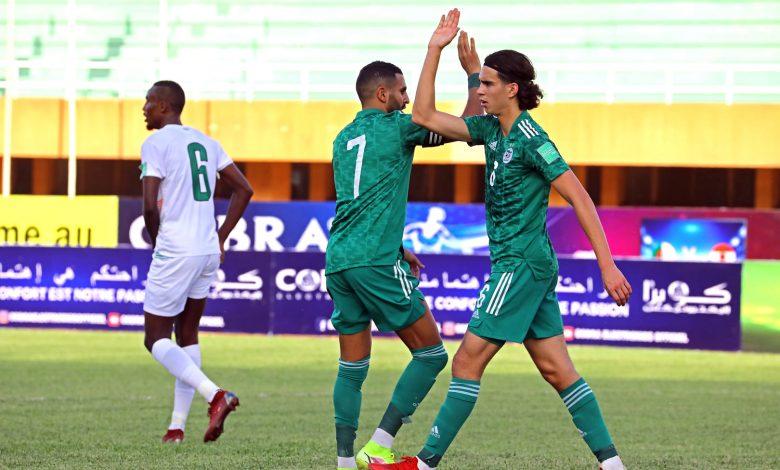 Photo of كرة القدم/ تصفيات /مونديال-2022/المجموعة الأولى- الجولة الرابعة: الجزائر تفوز على النيجر (4-0)