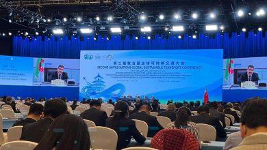 Photo of مؤتمر الأمم المتحدة الثاني للنقل المستدام: بكاي يؤكد على رغبة الجزائر في تعزيز التعاون الإقليمي والجهوي لتنمية قطاع النقل