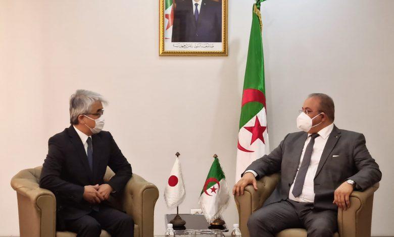 Photo of بحث سبل تعزيز التعاون الصناعي الجزائري الياباني