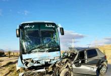 Photo of باتنة: هلاك شخص في اصطدام بين حافلة ومركبة سياحية